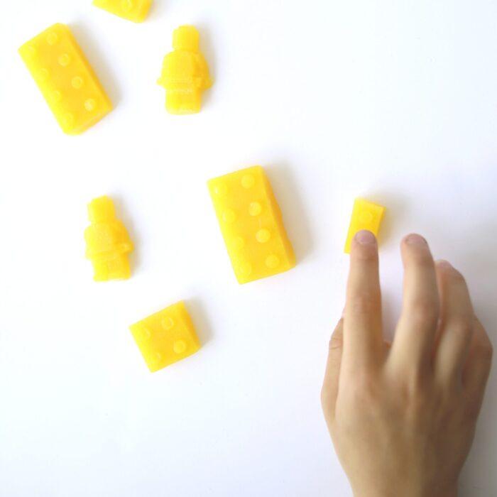 Suikervrij snoep GUMMIES GEEL