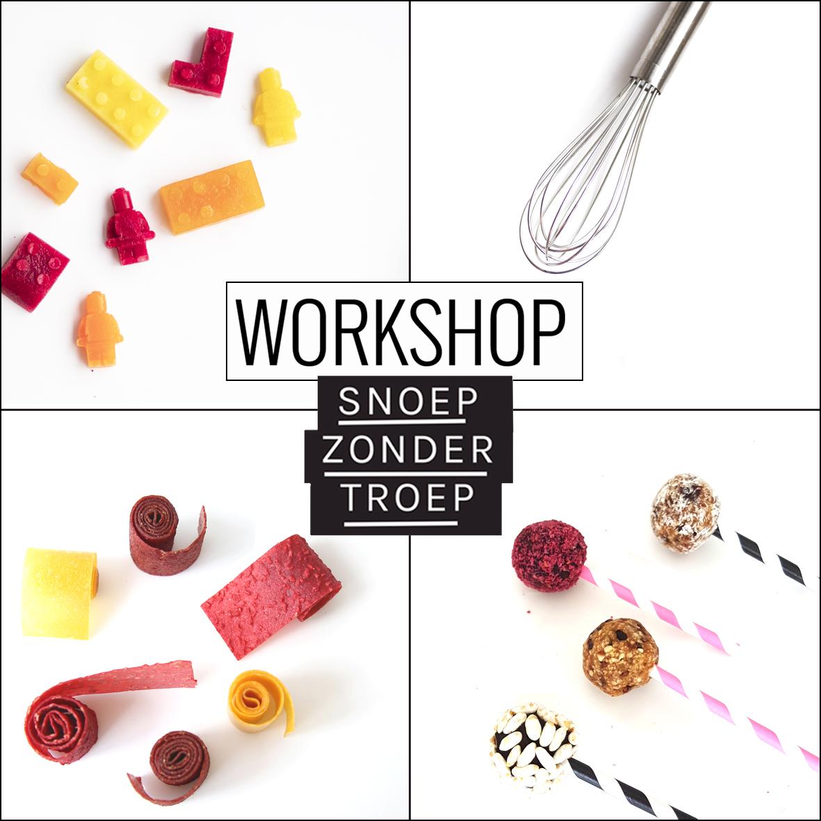 Workshop suikervrij snoep