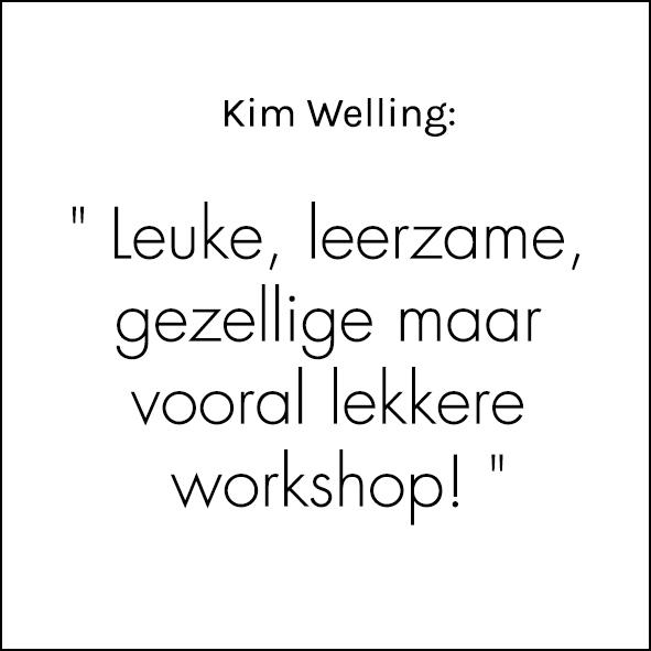 Referentie leuke, leerzame workshop
