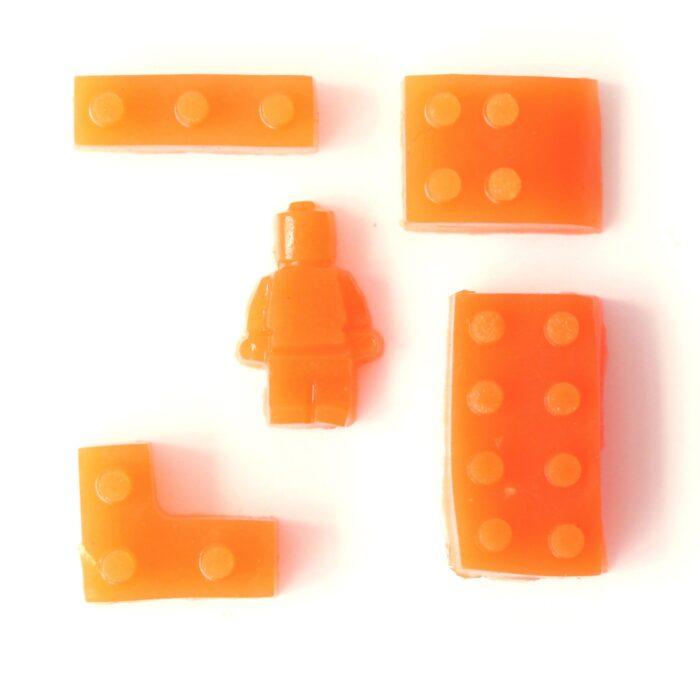 Suikervrij snoep GUMMIE oranje