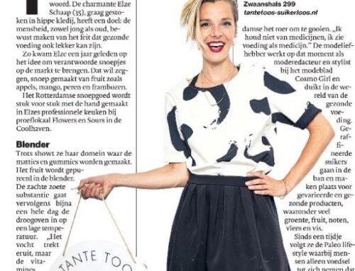 AD Rotterdams Dagblad: Mierzoet snoepen zonder suiker