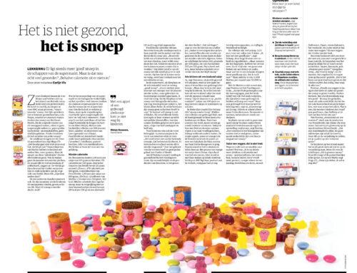 NRC – artikel over gezond snoep