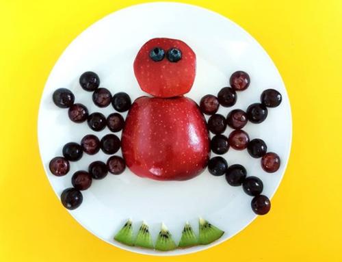 Itsy bitsy fruity spider…