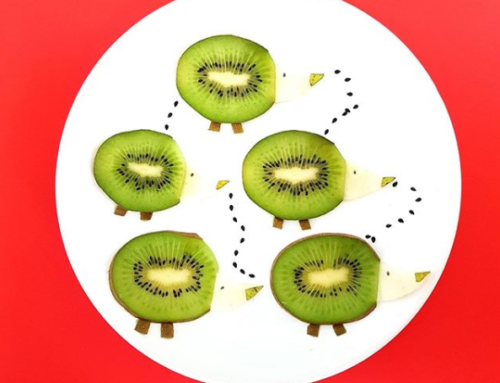 Super schattige kiwi-egeltjes
